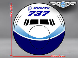BOEING-737-B737-NG-NEW-GENERATION-DREAMLINER-LIVERY-FRONT-VIEW-DECAL-STICKER