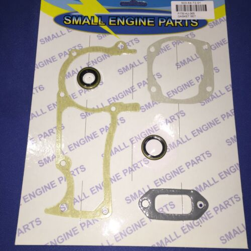 Husqvarna 362 365 371 372 chainsaw complete gasket and oil seal set