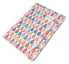 Collins Notepad Notebook Jotter - A5 Raindrops Design 192 pages - Feint Ruled