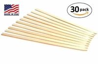 30 Pack 23 Wood Stakes For Garden Or Sign Posting