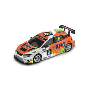 Coche-Ninco-50656-Seat-Leon-KH7-compatible-con-Scalextric-Slot-Car-1-32