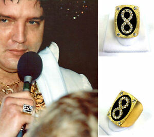 Elvis Last Concert Eternity Life Ring 1977 Sundial Suit