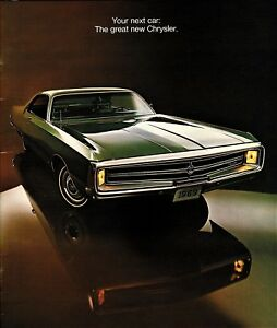 Details about 1969 Chrysler New Yorker 300 Newport Town & Country Large  Deluxe Sales Brochure