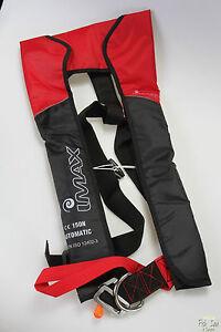 Angelsport IMAX Life Vest Automatic 165Nm Automatik Rettungsweste Schwimmweste