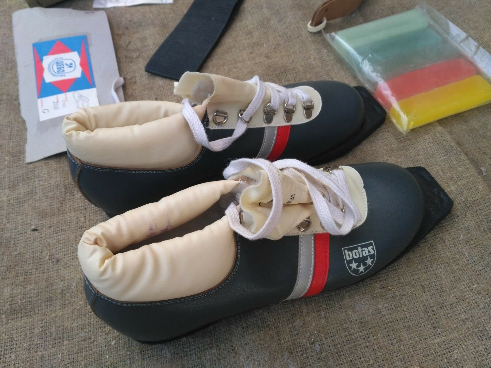 Vintage Ski boots shoes Sports Warm Winter & Accessories