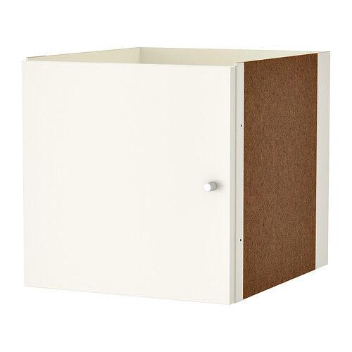 KALLAX Ikea Einsatz mit Tür weiß 33x33 Regal Türe OVP Holz Fach Wohnen