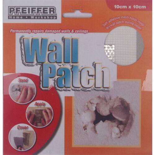 10cm Or 15cm 2x Pfeiffer PLASTER REPAIR WALL PATCH Adhesive Fibreglass Mesh