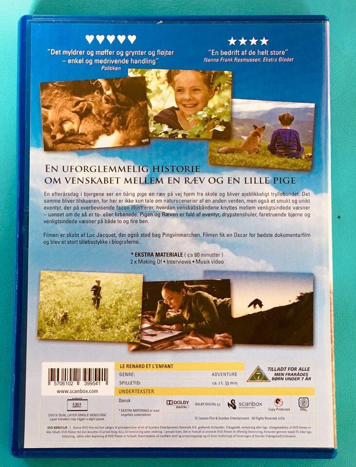 Pigen og Ræven (Frankrig), DVD, familiefilm