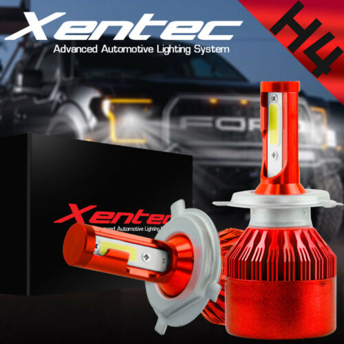 120W 12800lm 2 Sides LED Headlight Kit H4 HB2 9003 Hi//low beams HID 6000K Bulbs