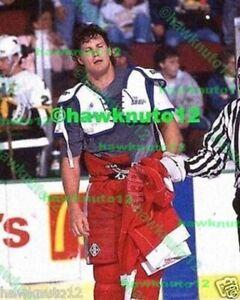 Bob Probert DETROIT Red Wings 8 X 10 color glossy PHOTO HOCKEY #dtr7bp7gz3