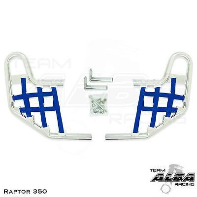 Yamaha Raptor 700  Nerf Bars   Alba Racing    Silver Red 197 T1 SR