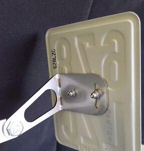 kennzeichenhalter universal f r 50ccm roller moped mofa. Black Bedroom Furniture Sets. Home Design Ideas