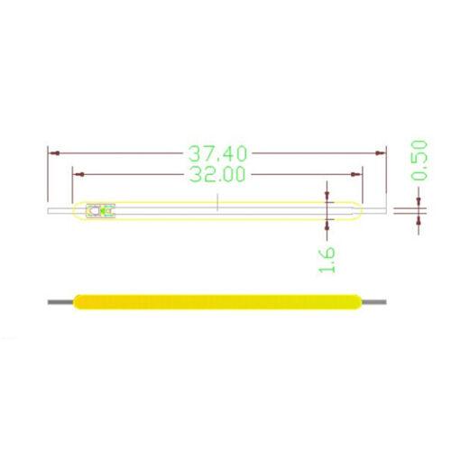Wholesale 5PC 1W COB LED Filament  Ball Candle Light Source Warm Pure White# M0Q