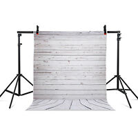 Photography Backdrops Photo Props Studio Background Wall Floor Vinyl 5x7ft Grey