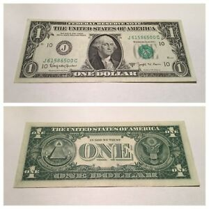 Details about VINTAGE green 1963-B BARR $1 ONE DOLLAR BILL KANSAS CITY  FEDERAL RESERVE NOTE