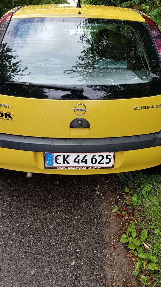 Opel Corsa, 1,2 16V Family Easytr., Benzin