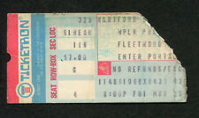 Original 1977 Fleetwood Mac Concert Ticket Stub Hartford CT The Rumours Tour