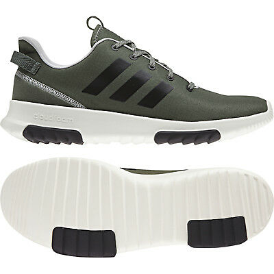 Details about Adidas Men Shoes Running Fashion Black Training Sports Cloudfoam Racer TR DA9305