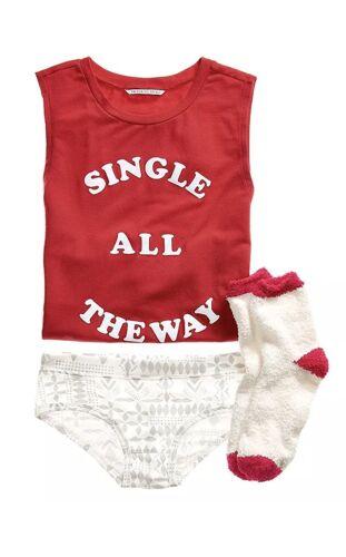 Secret Sleep ~ The ~ pillowtalk 3pc sock All shortie Victoria's Single Tank Way Sz L dn1OxqtwXz