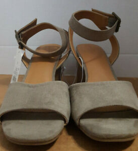 Megan-Women-039-s-Microsuede-Quarter-Strap-Heeled-Pump-Sandals-Taupe-11