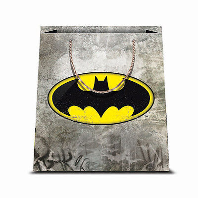 ★1 Busta In Carta Cartoncino Plastificato Shopper Dc Comics Batman 1 26 X 32★
