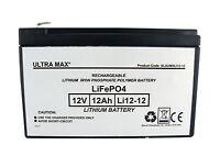 12v 12ah Li Battery For Feber Peg Perego Injusa John Deere Electric Toy Vehicle