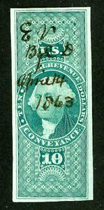 US-Stamps-R94a-Revenue-Superb-Used-Scott-Value-175-00