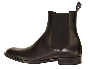 ff6f0e0064c GUCCI 256346 Men's Black Leather Ankle Boots 7552 Size 12.5 G | eBay