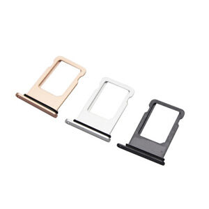 big sale 7342d 6b14c For iphone 8 plus SIM Card Slot Tray SD Card Holder Adapter For ...