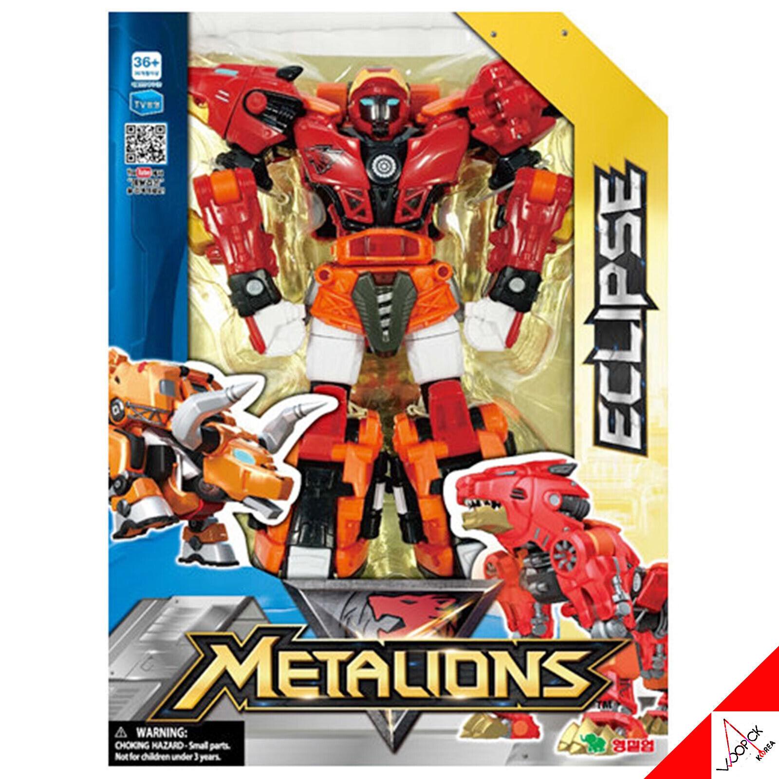 Metalions Eclipse (Leo, Taurus grande taille)  intégration du transformateur Animal Robot Jouet  gros prix discount