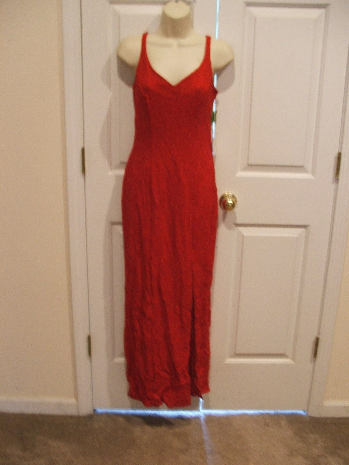 NWT FREDERICK'S OF HOLLYWOOD SPARKLE prom pageant stage special formal gown 9/10
