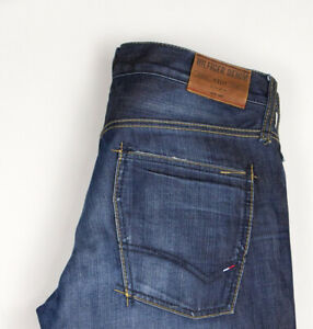 Tommy Hilfiger Hommes Woody Jeans Jambe Droite Taille W32 L36 ATZ1033