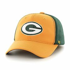 NFL Green Bay Packers '47 Draft Day Closer Stretch Fit Hat, One Size, Gold