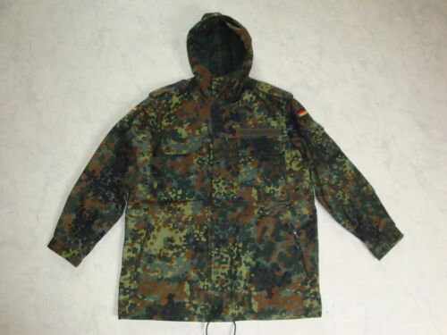 Orig. Bw Parka Flecktarn Uniform Coat Field Parka Jacket Bundeswehr