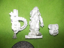 WARHAMMER40K  SPACE MARINE  SERVITOR  WITH HEAVY BOLTER  LOT Z2