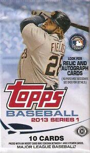 TOPPS-BASEBALL-2013-SERIES-1-1-SEALED-PACK