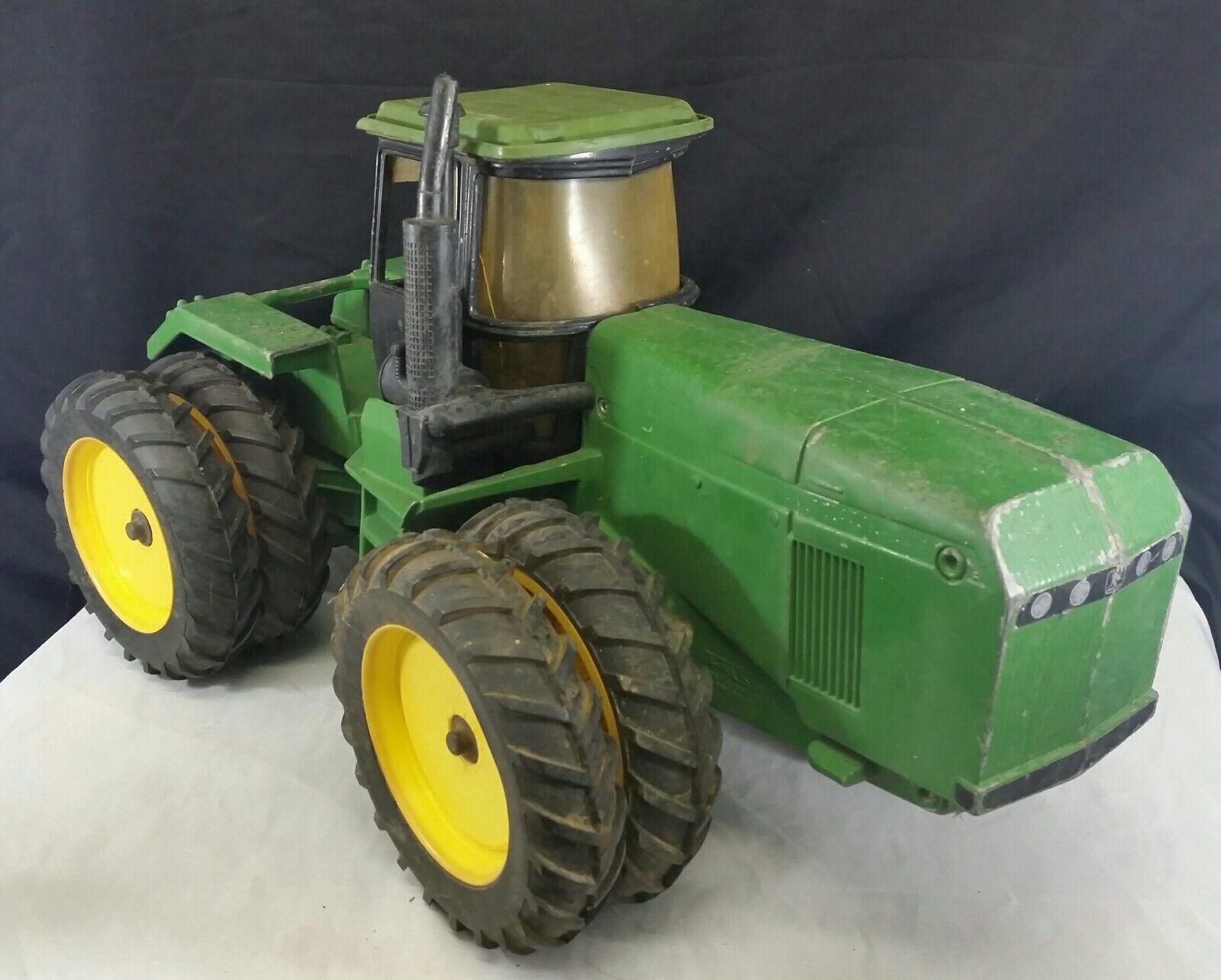 marcas de diseñadores baratos Usado Raro John Deere 8870 8870 8870 1 16 Tractor 1993 Juguete de Metal verde 4wd 16   de moda