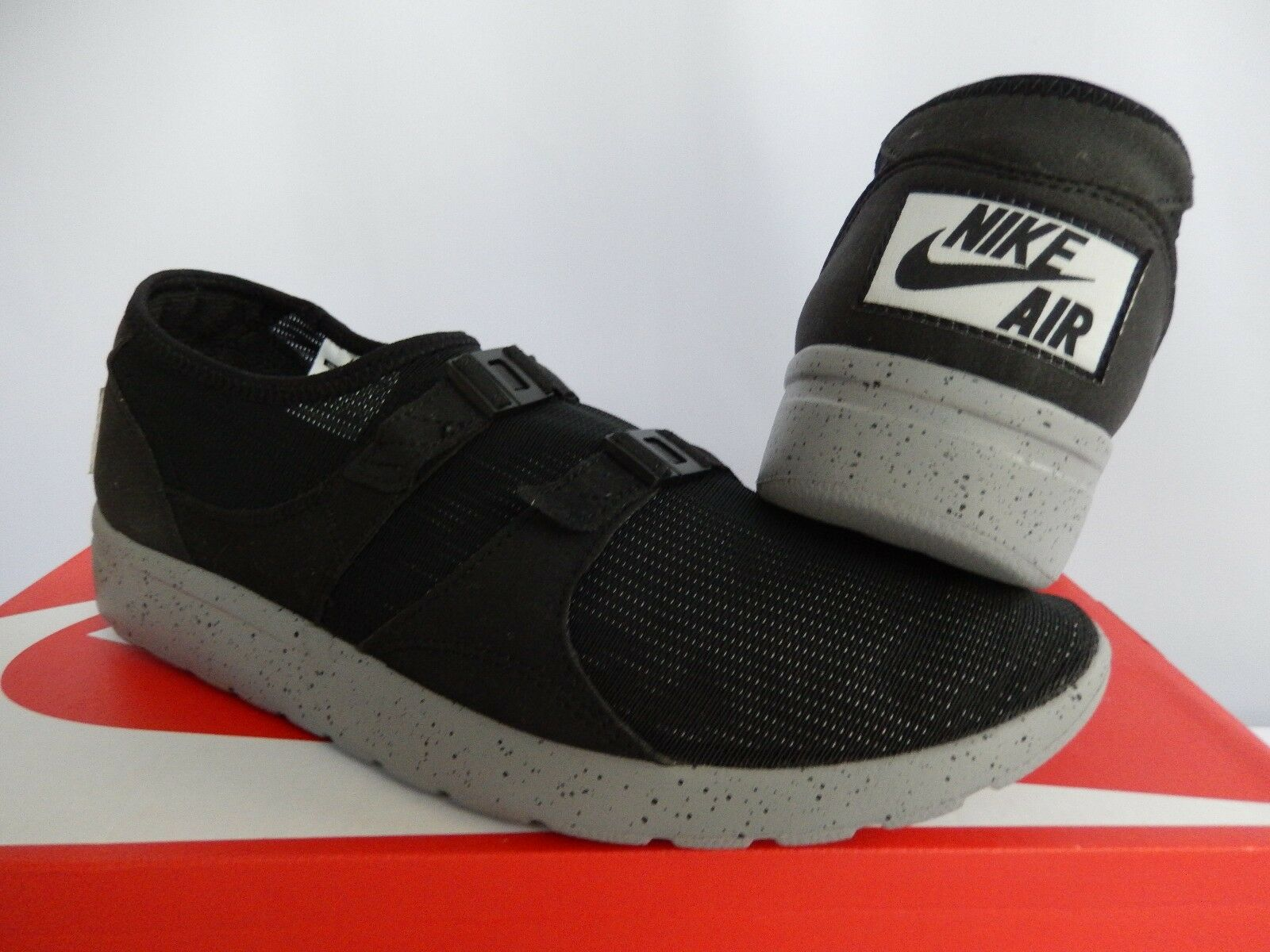 NIKE SOCK GREY RACER SP NSW GENEALOGY OF FREE BLACK-CEMENT GREY SOCK SZ 12 [677738-009] 9886e9