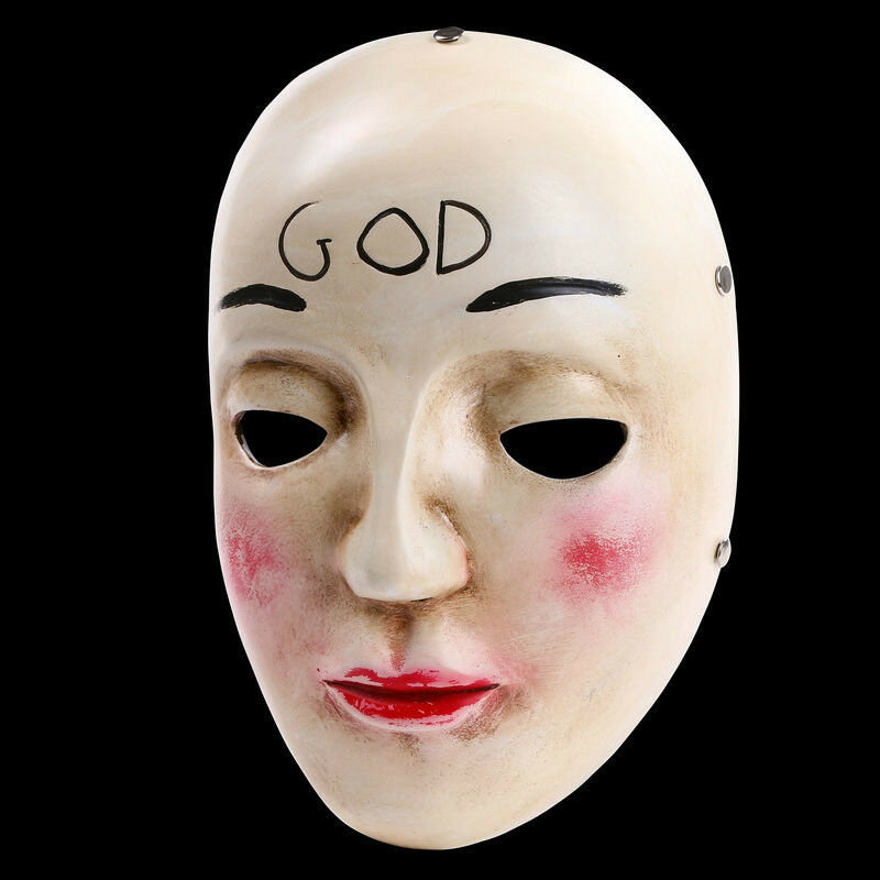 Details about The Purge Mask Anarchy Movie Horror Purge Cross God Halloween  Costume Cosplay