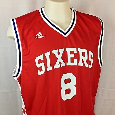 X-Large Blue NBA Mens Philadelphia 76ers Jahlil Okafor Replica Player Road Jersey