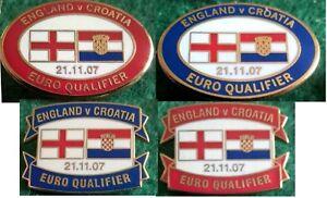 England-v-Croatia-2008-Euro-Qualifier-Wembley-21-November-2007-Oval-Oblong-Badge