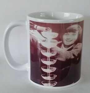 Georgie Best mug football, spirit in the sky birthday, Fathers day gift box