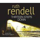 Thirteen Steps Down, 3 Audio-CDs. Die Liebe eines Mörders, 3 Audio-CDs, englische Version von Ruth Rendell (2004)