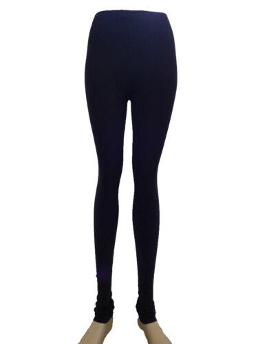 UK 8-14 Débardeur Femme Nouveau Haute Qualité Stretch Noir Legging Couleurs