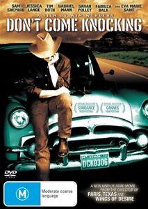 Don-039-t-Come-Knocking-DVD-Cowboy-Movie-Wim-Wenders-Film-Sam-Shepard-Jessica-Lange