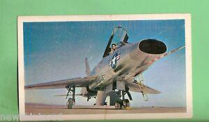 1964-SANITARIUM-AEROPLANE-CARD-34-NORTH-AMERICAN-F-100-SUPER-SABRE