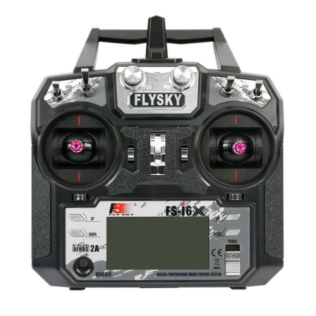 Flysky FS-i6X 2 4G 6CH Transmitter TX For Fixed-wing Glider RC Drone  Quadcopter
