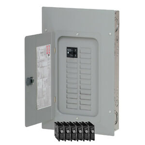 eaton 100 amp 20 space 40 circuit wall main breaker indoor Cutler Hammer CH Panel image is loading eaton 100 amp 20 space 40 circuit wall