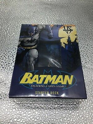 Vs. System - Batman Trading Card Game Starter Deck | eBay