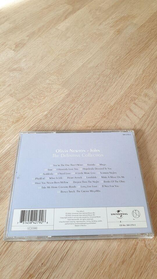 Olivia Newton-John: The Definitive Collection, pop